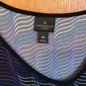 Worthington blouse, like new. 5x